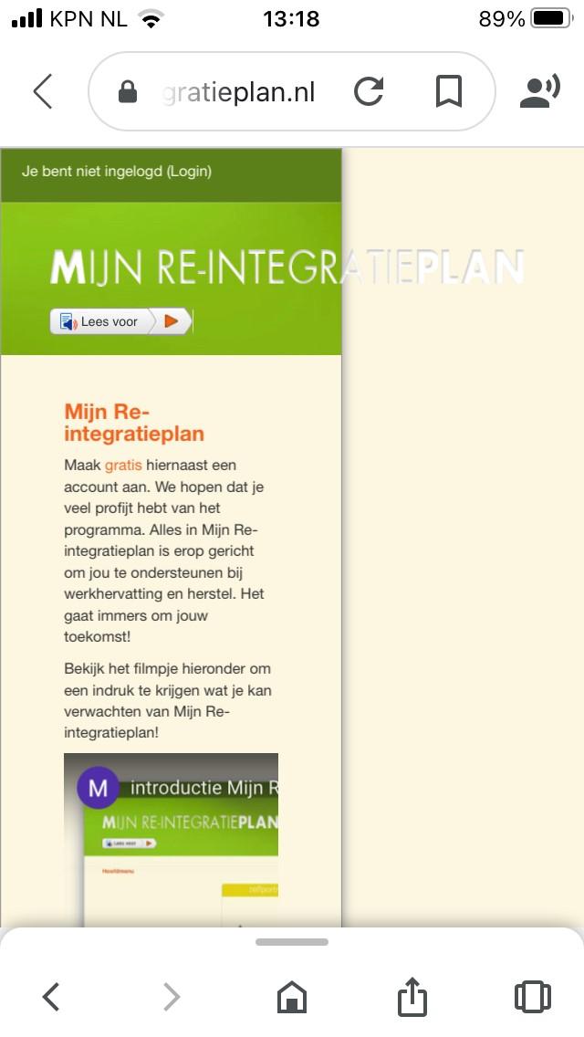 www.mijnreintegratieplan.nl